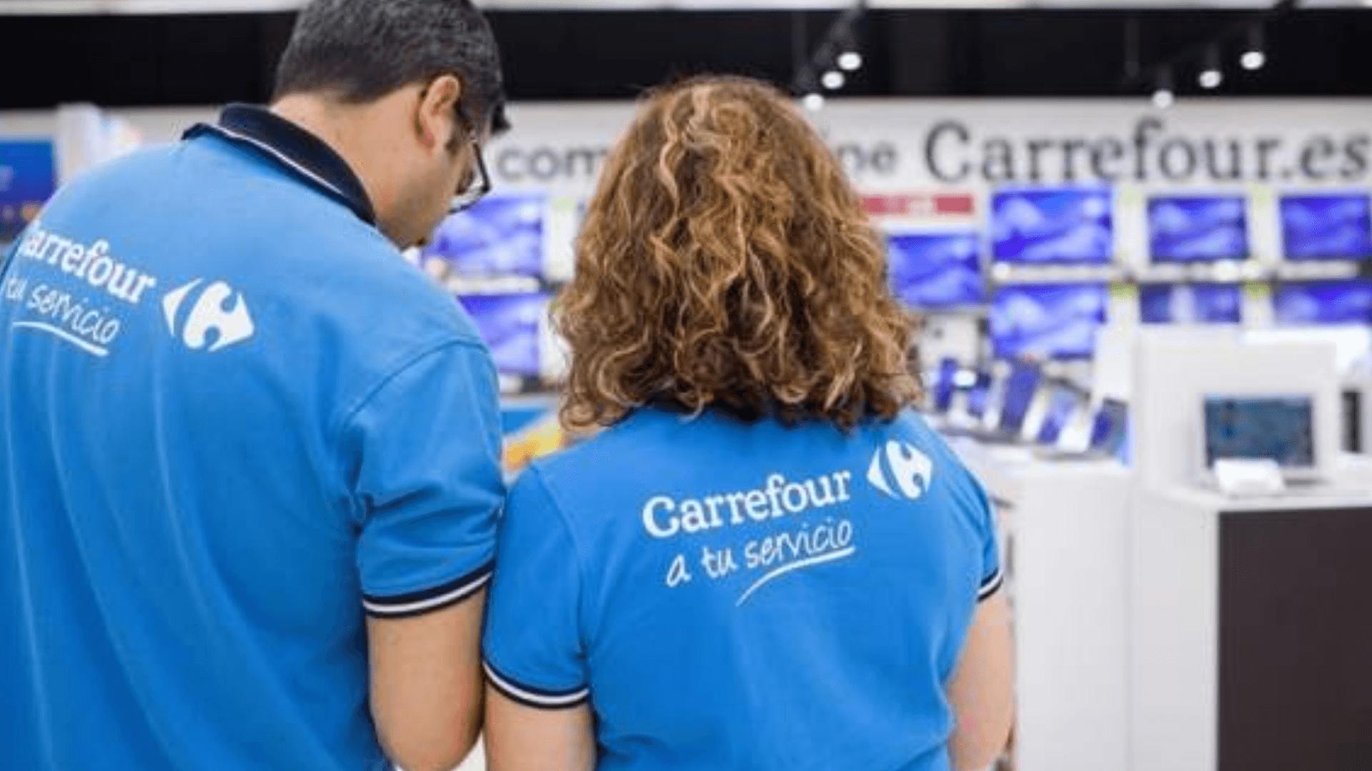 Consigue una vacante de empleo en Carrefour