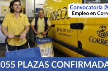 Convocatoria De Trabajo Para Correos - 4.055 Plazas Confirmadas